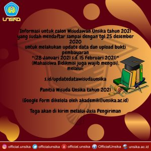 Read more about the article Informasi Wisuda 2021